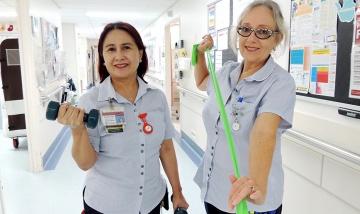 QEII nurses bridge rehab gap - Mildred Chitabwa