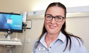 Rebecca overwhelmed by resilience of Townsville community