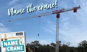 Redland name the crane