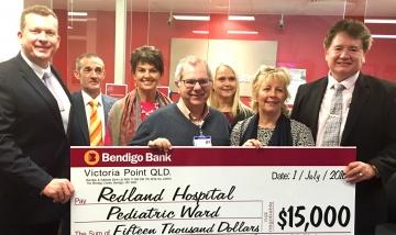 Redland Paediatric Ward donation
