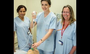 Trainee anaesthetists