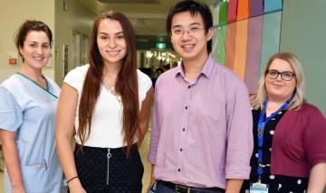 New docs kickstart careers at Redland Hospital