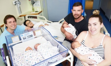 Twin fever at Redland Hospital April 2018