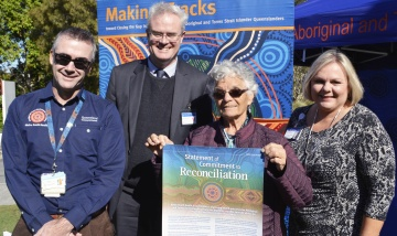 Redland Hospital endorses Statement of Commitment to Reconciliation