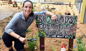 Community Garden a therapy tool for patients