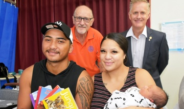 Rotary birthday book gifts for Logan babies