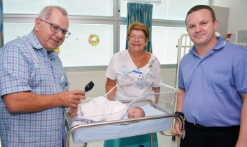 Ed's gift to benefit babies and children at Redland Hospital