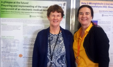 Sally Carpenter and Angela Henson Renal Conference