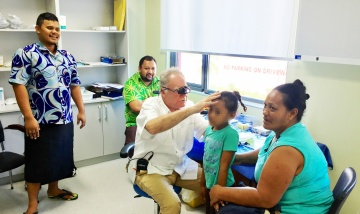 Logan Hospital contingent provide vital ENT services to Samoa