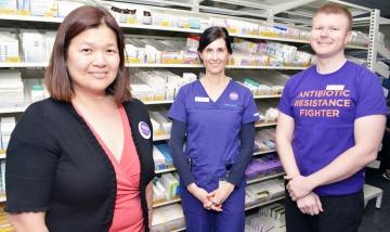 Antibiotic resistance a threat
