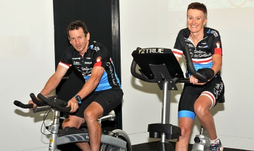 PAH staff ride for skin cancer research news