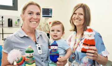 Special teddies put smiles on little faces