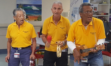 QEII Hospital wards alive with the sound of music