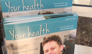 Metro South Health magazine