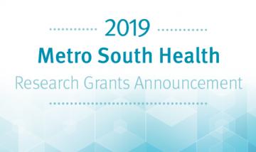 Metro South Health Research Grants Announcement invitation
