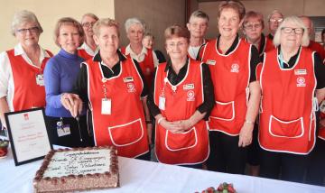 St John volunteers celebrate 25 years at Logan Hospital
